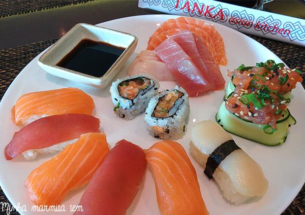comida japonesa tanka