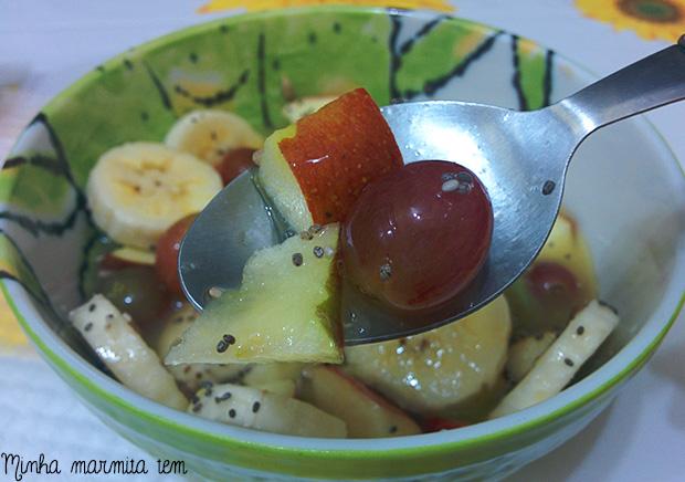 salada de frutas express