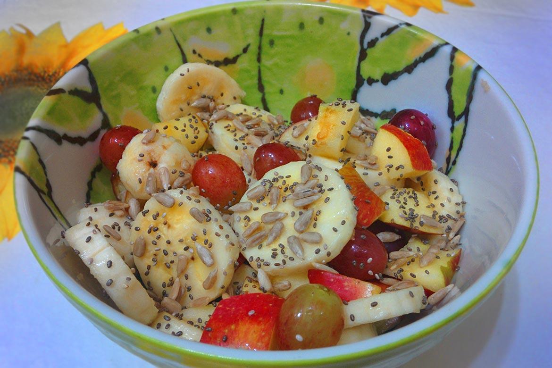 como levar salada de frutas no trabalho