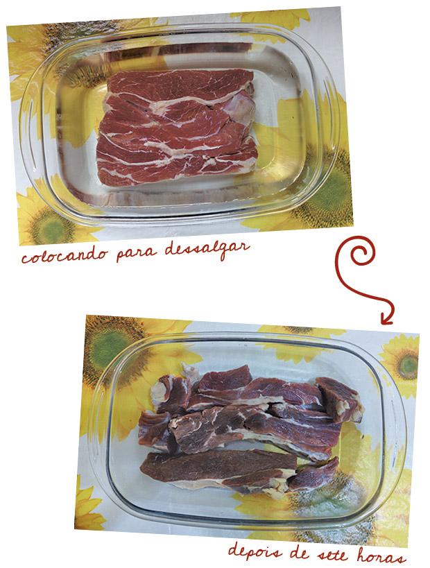 carne seca de molho