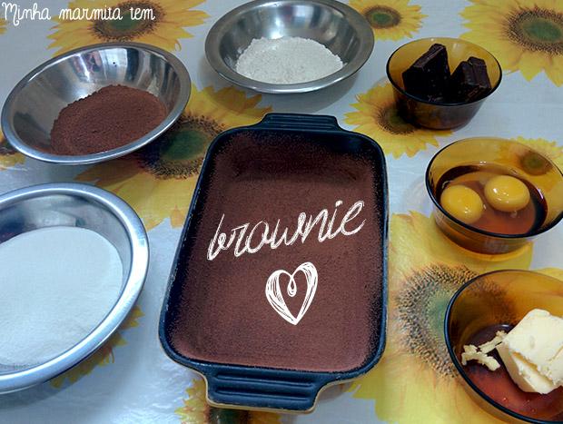 brownie ingredientes