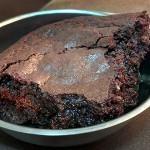Receita de Brownie para marmita