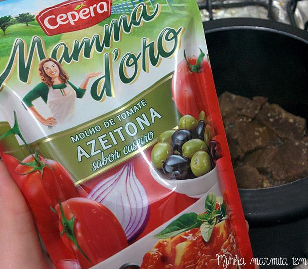 molho de tomate cepêra