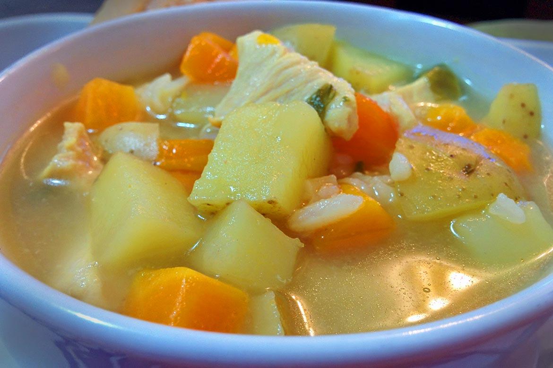 como levar sopa