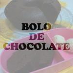 Bolo de chocolate molhadinho sem batedeira