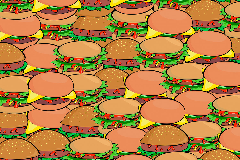 invenção do hamburguer