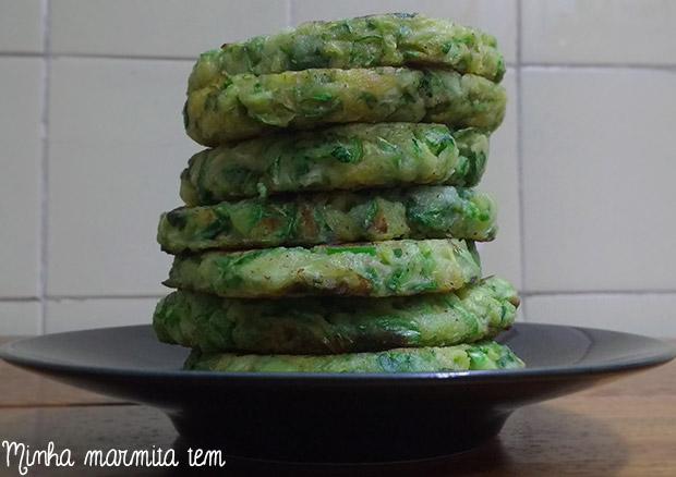 receita hambúrguer vegetariano de abobrinha