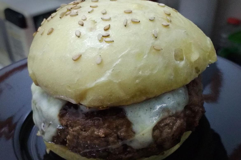 receita de pão de hamburguer