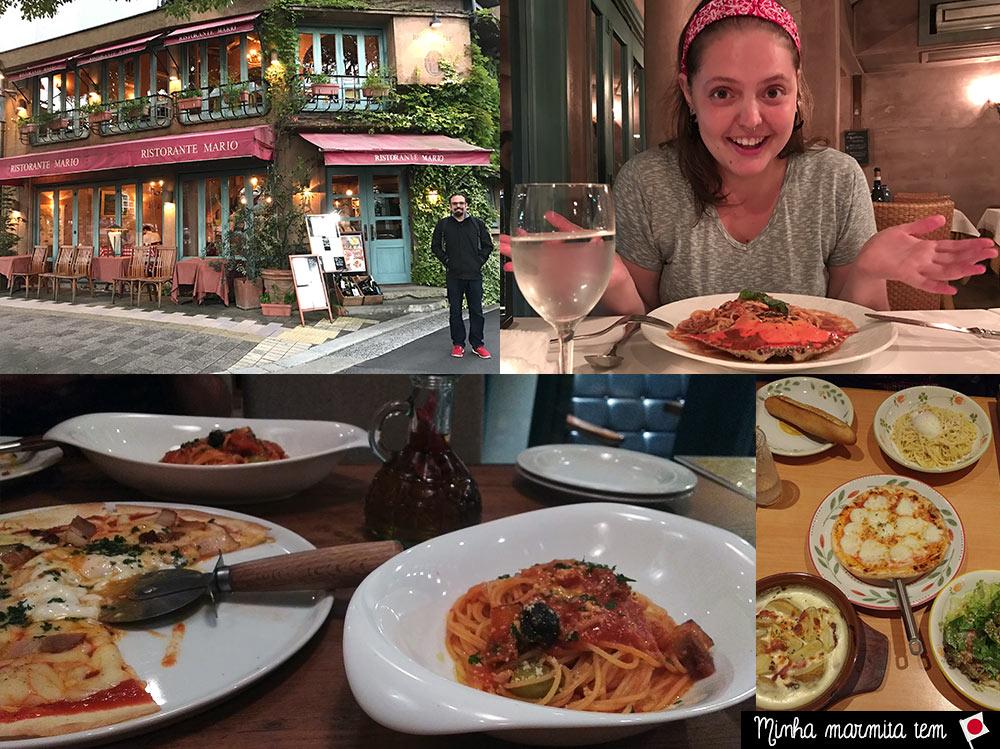 comida italiana no japão
