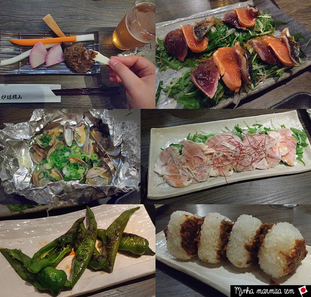 a comida no japão