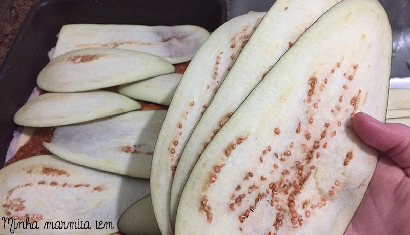 como fazer lasanha de berinjela