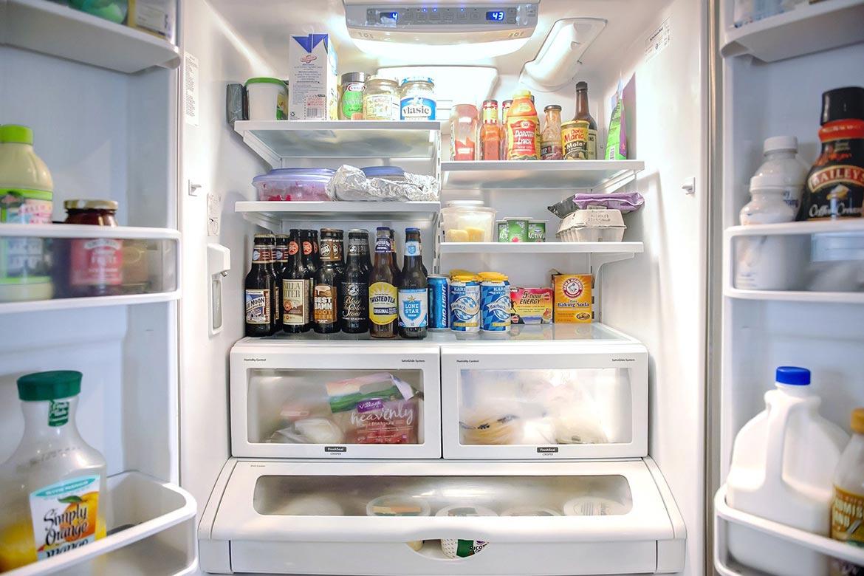 comida da geladeira quando acaba a luz