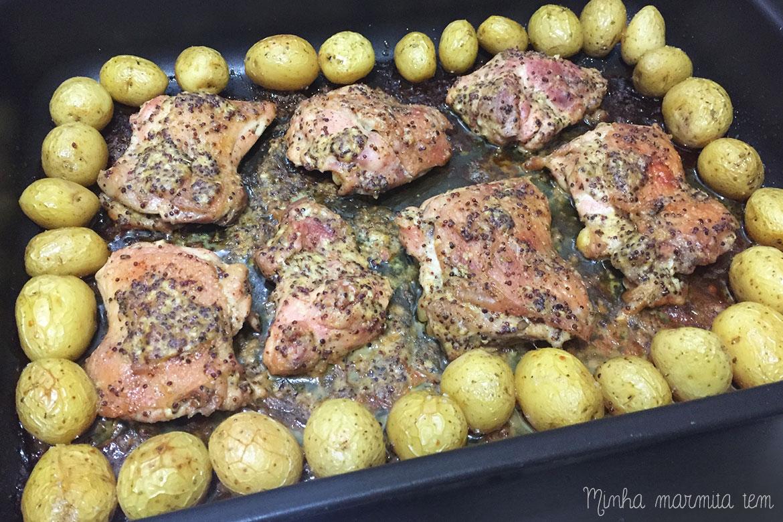 receita frango com mostarda