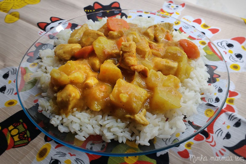 receita de curry para marmita