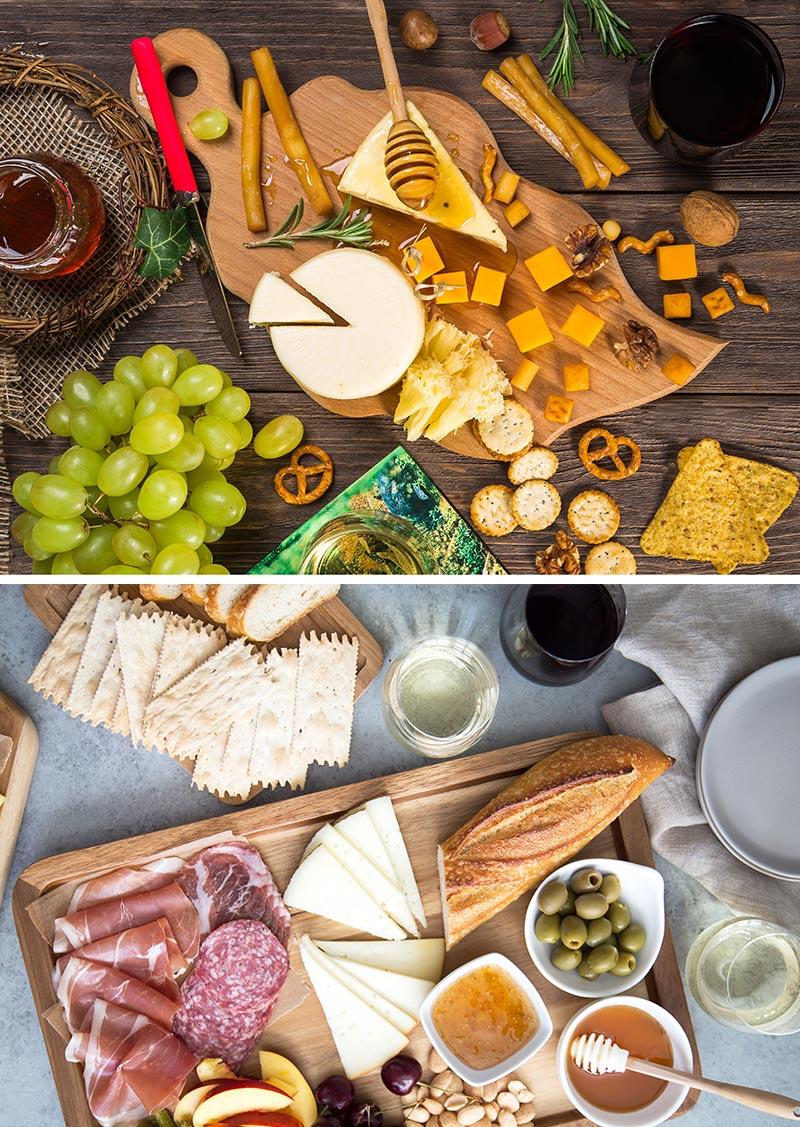 como montar uma tábua de queijos perfeita