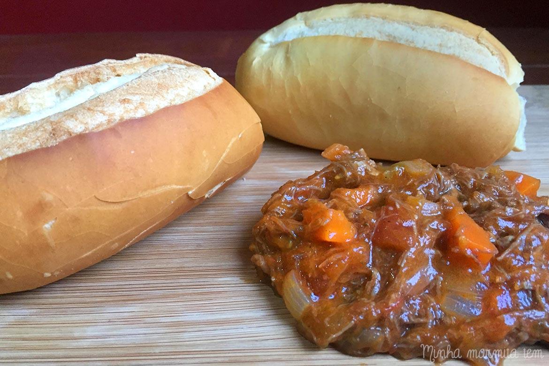 receita de carne louca para marmita