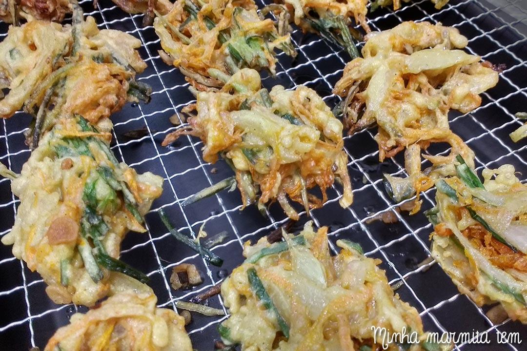 como fazer tempurá em casa