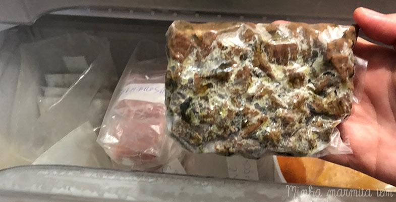 dicas para organizar o freezer e levar marmita