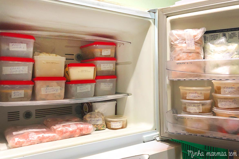 Comece 2019 sabendo como organizar o freezer