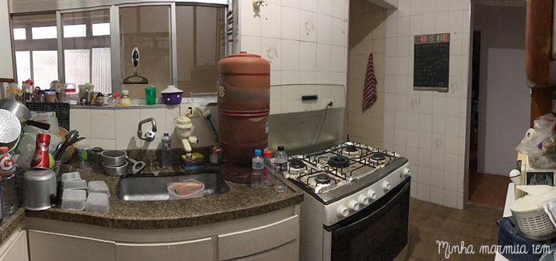 cozinha antiga antes da reforma