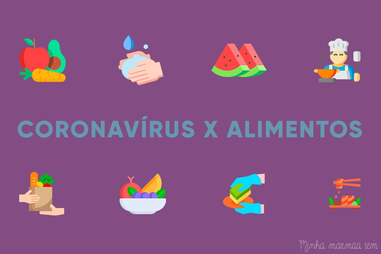 higiene dos alimentos contra coronavírus
